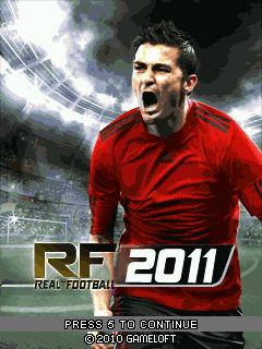 জাভাতে খেলুন Android এর Real Football 2011 Game.
