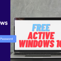 active windows 10