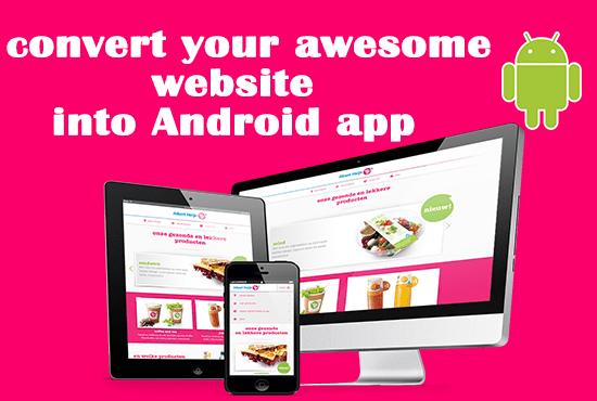Android App Making In 5 Minute যে কোন ওয়েবসাইট থেকে এপ বানিয়ে আয় করুন সহজে