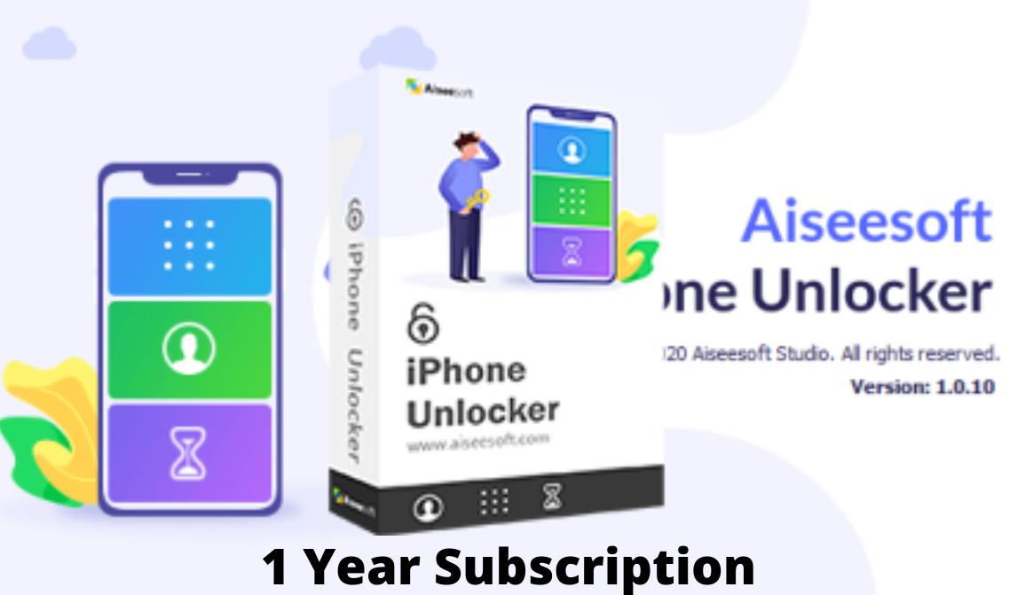 Aiseesoft iPhone Unlocker 1 বছরের জন্য License Key [No Crack_No Mod]