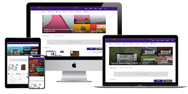 [🔥হট অফার] Violet Blanter Responsive Blogger Template [Unlimited License]
