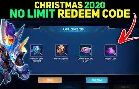 নিয়ে নিন Mobile Legends Christmas 2020 Redeem Code