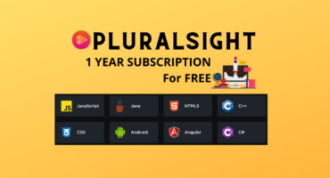 Pluralsight one, ১বছরের জন্য free subscription [limited offer]