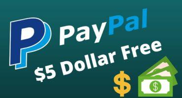 পেপাল পাঁচ ডলার ফ্রীতেই – Paypal Free $5 USD