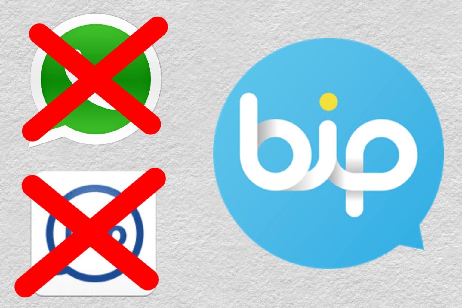 imo/whatsapp বর্জন করুন। তুরস্কের মুসলিমদের তৈরি অশ্লীলতা মুক্ত BiP–Messaging, Voice and Video Calling অ্যাপ ব্যাবহার শুরু করুন।
