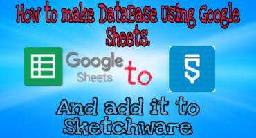 Firebase বাদ দিন। Google Sheet দিয়ে নিজে ডাটাবেজ তৈরি করুন আর আপনার এন্ড্রোয়েড অ্যাপ এ অ্যাড করুন Sketchware দিয়ে।