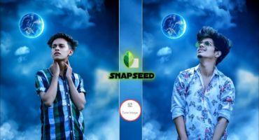 Snapseed Moon Night Photo Editing | Snapseed Photo Editing Trick | How To Edit Photo in Snapseed