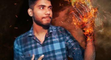 Picsart দিয়ে Burning Hand Effect তৈরি করবেন যেভাবে  || Picsart || edit