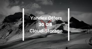 Yandex.disk দিচ্ছে 30GB Cloud Storage ফ্রিতেই For Limited Time