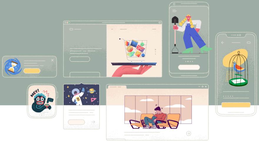 ফ্রি  Illustration Resources Provider Website