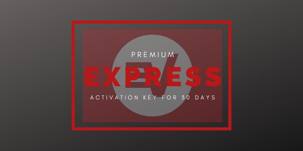 Express VPN Premium Activation Key 30দিনের জন্য (05 User Only)