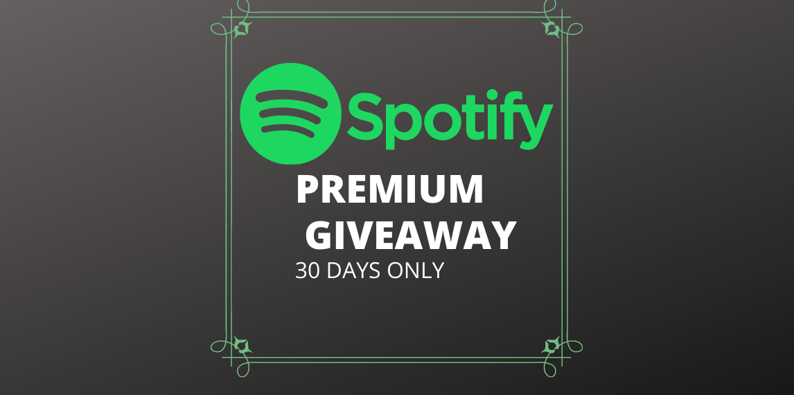 [Expired]5 Spotify Premium Account Giveaway (Worth 11.45$)