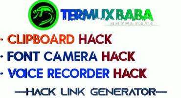 [Hack Link Generator] হ্যাক করুন যেকারো ক্যামেরা, ভয়েস, ক্লিপবোর্ড 💥 কোনো প্রকার Termux ছাড়াই জেনারেট করুন এক্সেস লিংক 🔥
