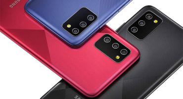 6.5 ইঞ্চি ডিসপ্লে, 5000 এমএএইচ শক্তিশালী ব্যাটারি ও 15W Fast Charging অসাধারণ ফোন Samsung Galaxy M02s