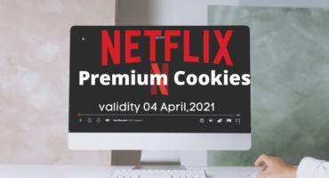 Netflix Premium Cookies validity ০৪ April পর্যন্ত (PC User Only)