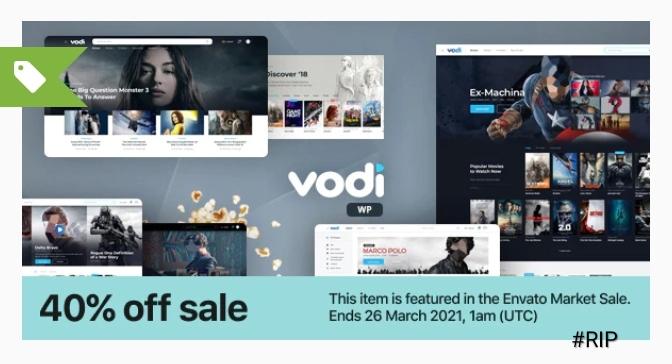 Video WordPress Theme for Movies & TV Shows-Vodi ডাউনলোড করে নিন একদম ফ্রী