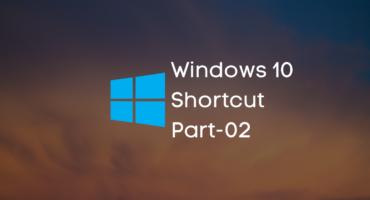 Windows 10 এর কিছু  Keyboard Shortcut Part-02