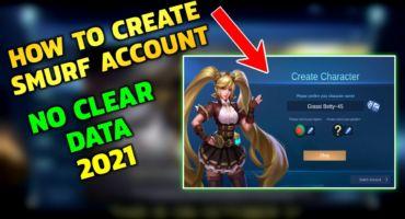 Mobile Legends এ কিভাবে নতুন একাউন্ট বা স্মার্ফ আইডি খুলবেন Data Clear ছাড়া