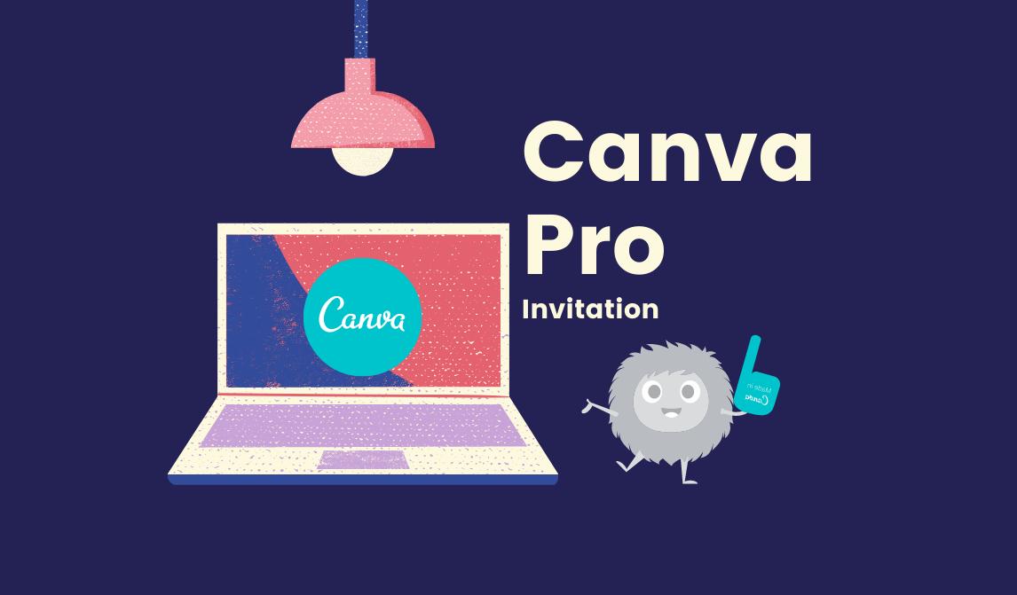 Canva Pro Invitation লিংক, 30 দিনের জন্য [No Binning, Direct Pro]