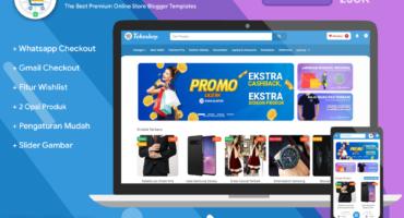[🔥Free Download] Blanter Tokoshop Premium Blogger Template v1.5.0