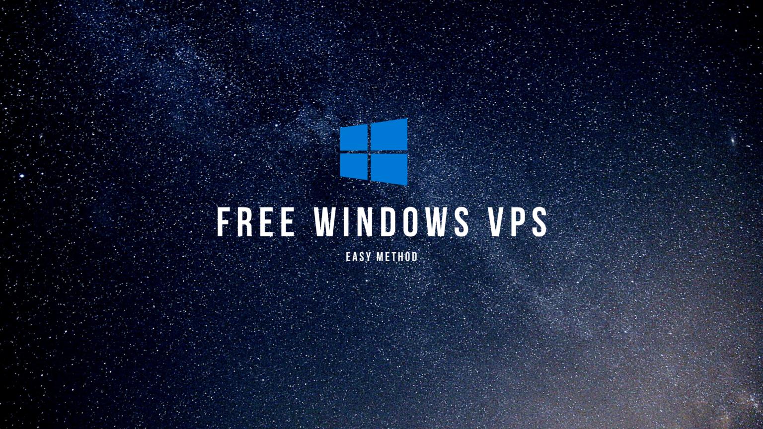 ফ্রি Windows VPS (Easy Method)