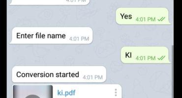 Telegram Bot দিয়ে Image To Pdf যেভাবে করবেন
