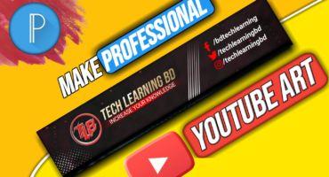 How to create a Professional Youtube Banner    PixelLab    মোবাইল দিয়ে ইউটিউব ব্যানার ডিজাইন