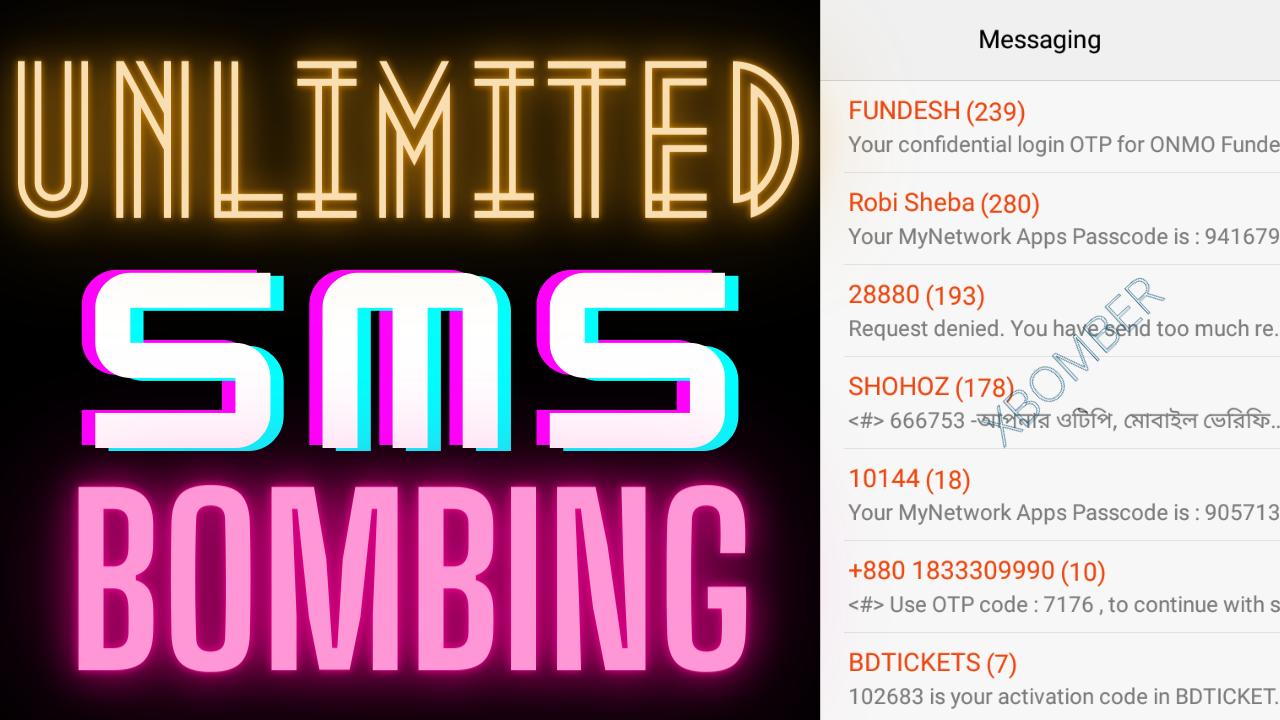 [HOT] Unlimited SMS Bombing করার নতুন ট্রিক!   No Termux