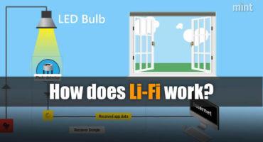 Li-Fi বা Light Fidelity কি এবং এটি কিভাবে কাজ করে?