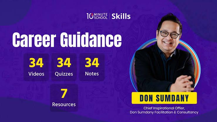 ডাউনলোড করে নিন 10 Minute School এর Career Guidance Course By Ghulam Sumdany .