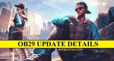 FREE FIRE OB29 UPDATE |গেম আপডেট রিভিউ পোস্ট