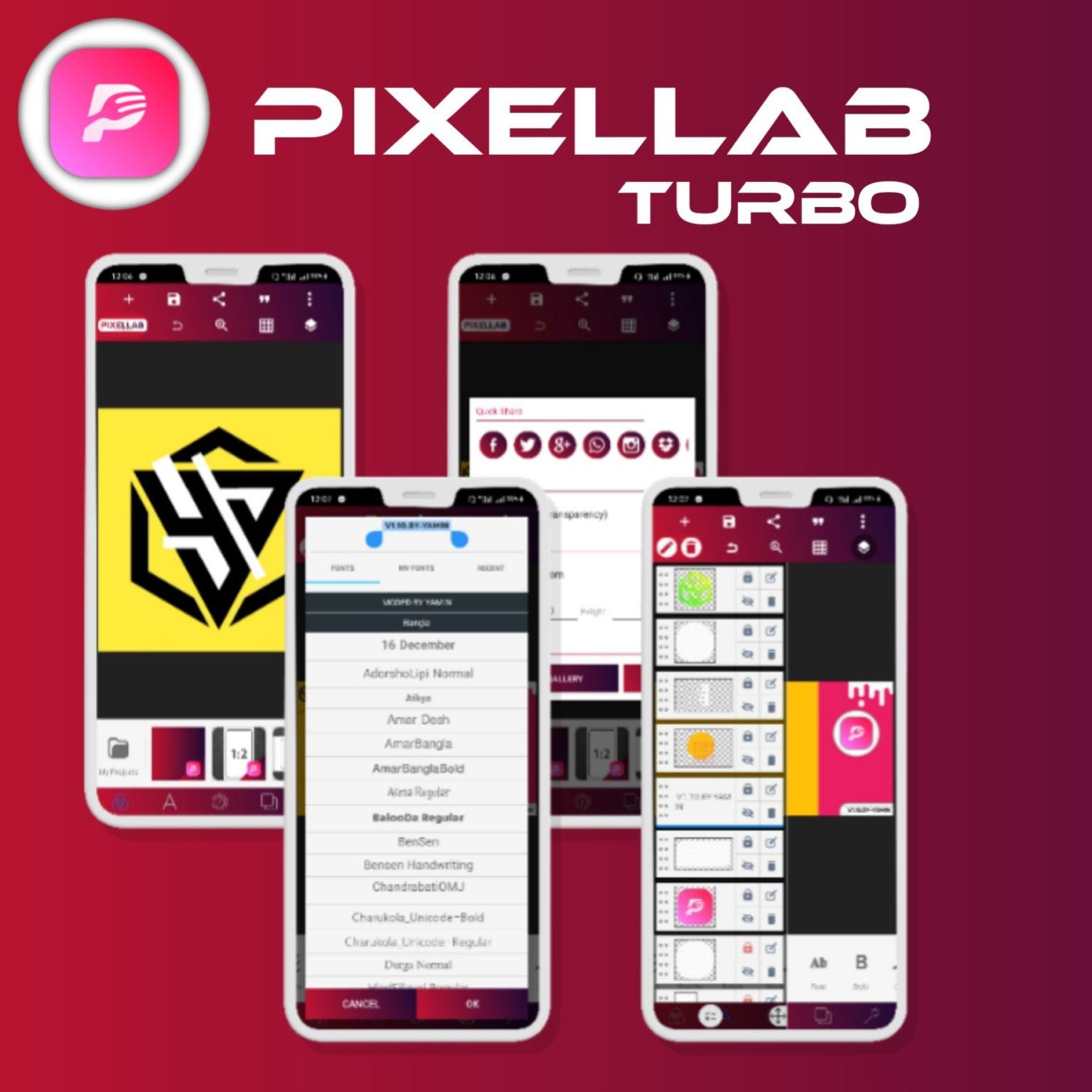 ডাউনলোড করে নিন PixelLab V1.9.9 Mod লেটেস্ট ভার্সন সাথে অনেক ফিউচার বিস্তারিত পোস্টে