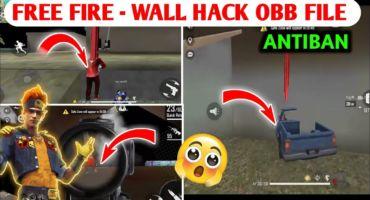 ফ্রি ফায়ার এনেমি লোকেশন ওয়াল হ্যাক | FREE FIRE WALL HACK OBB FILE