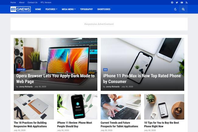 gnews-blogger-template Paid by Ajkerkolom.com