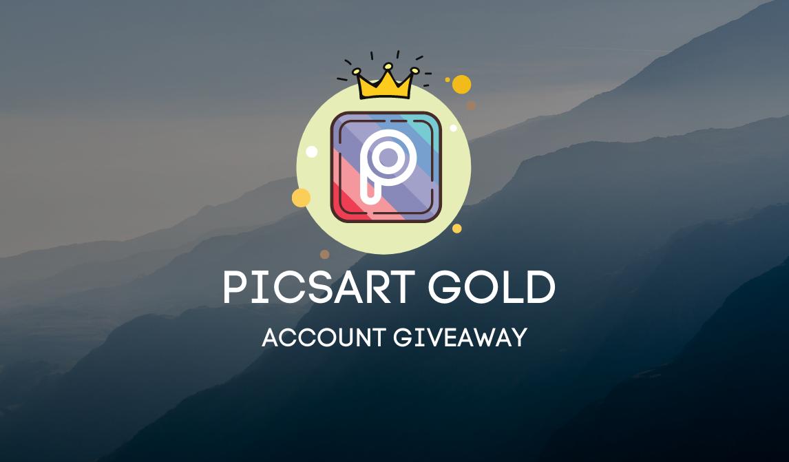 15x Picsart Gold Account Giveaway ০1 মাসের জন্য