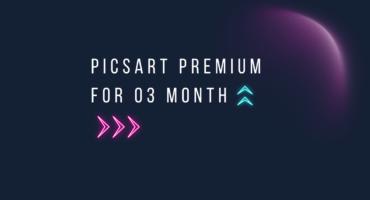 Picsart Gold Account 3মাসের জন্য Free Subscription Method [Bin]