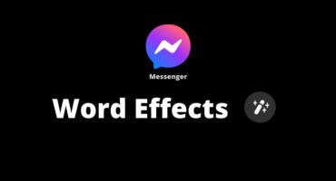 """মেসেঞ্জারে এলো নতুন ফিচার """"Word Effects"""""""