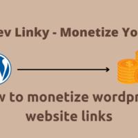 how to monetize wordpress website link